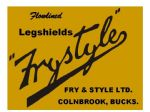 Fry and Style Frystyle Dealer Decals Transfers DDQ116